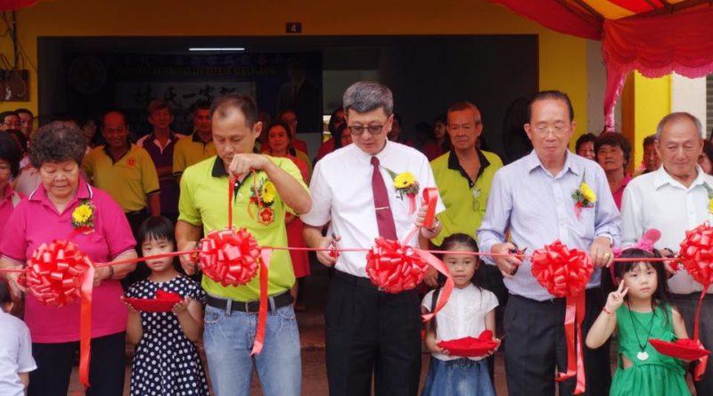 早上彭亨州百乐县林氏宗亲会庆祝会所开幕典礼仪式圆满成功。