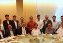 与中国驻马大使及几位丹斯里和商场朋友聚餐交流。