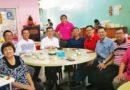 早上与林氏宗亲及朋友们肉骨茶聚会交流。