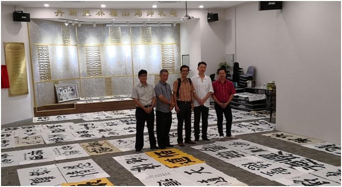 左:此次精英赛初选评审为、陈振宗、刘明亮、刘云亭,谢豪杰、林清忠。